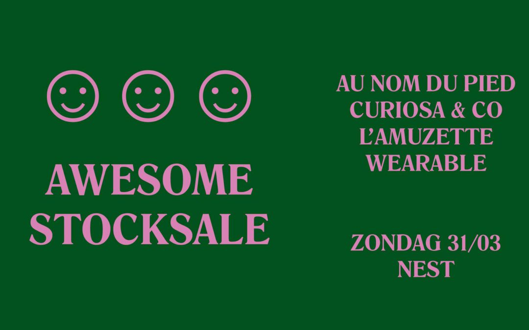 Stocksale Wearable Au Nom du Pied L'Amuzette Curiosa & co
