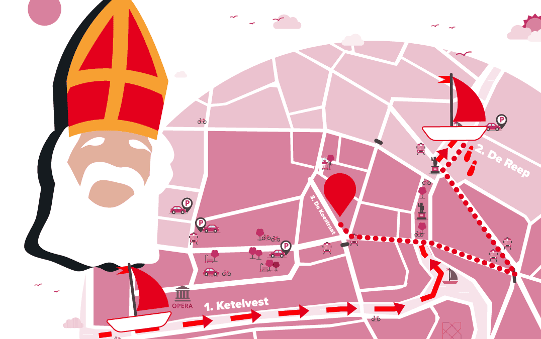 Intrede Sinterklaas 1 December